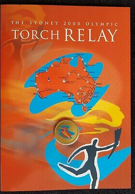 The Sydney 2000 Olympic Torch Relay Route Map & Medallion