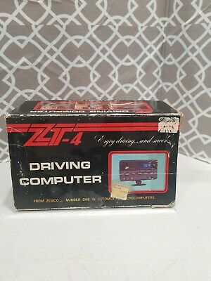 ZT-4 Driving Computer  Used  Comes As Picture cant verify it work