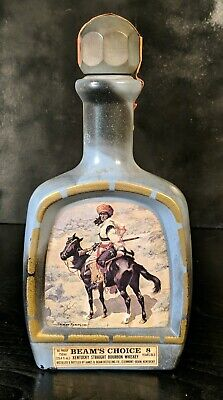 1979 Native American Indian ChiefHandcrafted Sitting Bull Jim Beam Decanter