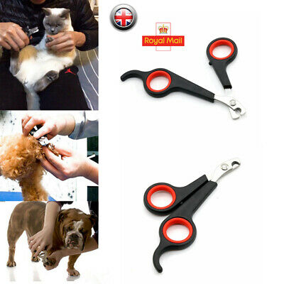 Pet Claw Nail Clippers Trimmers Scissors Dog Cat Rabbit Bird Guinea Pig Easy Use