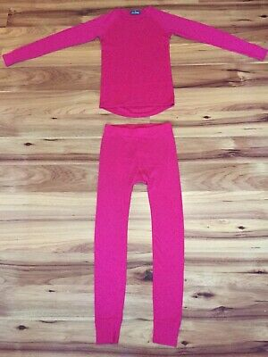 Arell Scandinavian Thermal Merino Wool Lightweight Baselayer set Size 8-10 Years