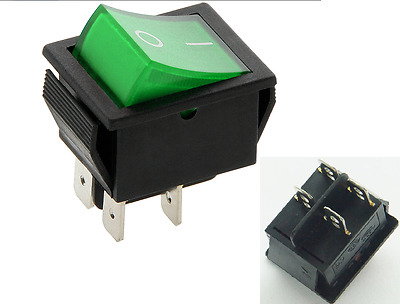 NUMATIC ON/OFF Switch green Henry Hoover James Hetty vacuum power switch