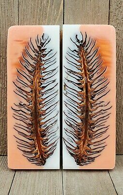 Linder Knives  Stag Scales 70x24mm 157024