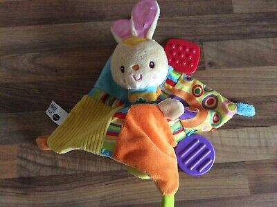 Vtech baby soother comforter bunny blankie musical lullaby light up soft toy