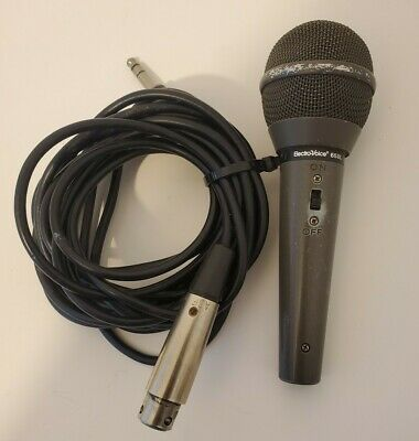 EV Electro-Voice 658L Dynamic Cardioid Handheld Microphone 658 L w/ Mic Cable