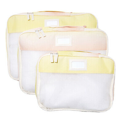 Calpak Set Of 3 Packing Cubes In Sorbet For Luggage Drawers Trunk Tote Gym Bags