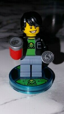 LEGO 71235 Dimensions Midway Arcade /& Gamer Kid Game Disc Rare New Authentic