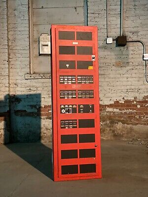 SIMPLEX 420-7 Fire Alarm Control Panel 72C Time Recorder Co Industrial