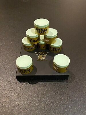 1 x CUBE GREEN TAOM CUE CHALK MADE IN FINLAND**