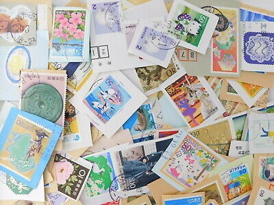 STAMP JAPAN 80g Commemorative ON paper  lot philatelic collection kiloware