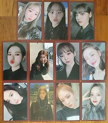 Loona # MMT Official Exclusive Photocard MyMusicTaste Kpop Album Hash