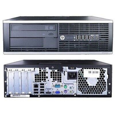 Pc Hp Desktop Intel Quad Core I5 8Gb Ddr3 500Gb Windows 10 Computer Fisso