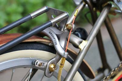 Ti Parts Workshop Titanium Rear Hinge Spindle for Brompton Bicycle Rear Triangle