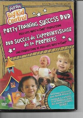 Huggies Pull Ups DVD! Potty Training Success! Big Kid Central! Way To Go! Potty