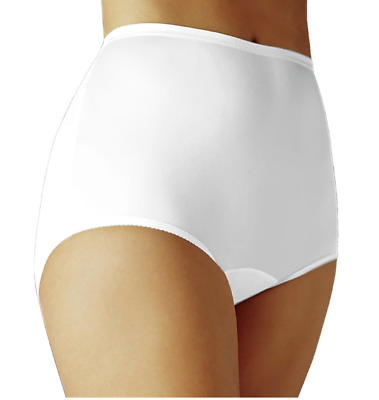 Vanity Fair Perfectly Yours Ravissant Tailored Brief 15712 NWT Sz 11 / 4XL White