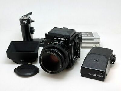 Bronica ETRSi Medium Format Film Camera with 75/2.8 Lens Excellent Japan F/S