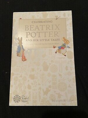 Beatrix Potter UK 50p Coin Collector Album 2018 COMPLETE WITH ALL COINS
