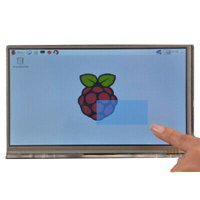 Raspberry Pi 7-inch touch screen with high-definition HDMI bracket shell