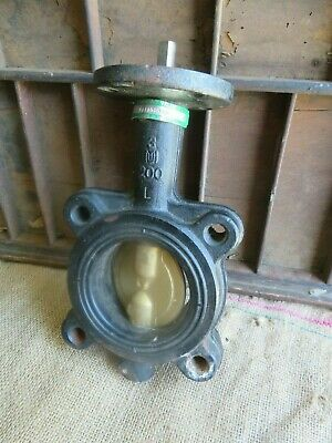 Hammond Cast Iron Valve - 6211-010-300, Made in America Never Used