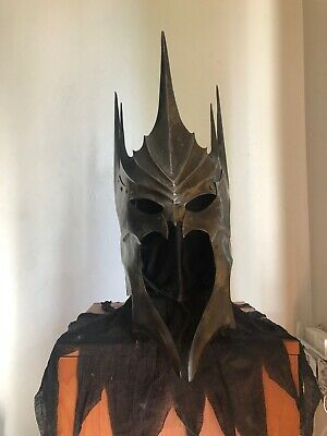 Morgul Sauron Lord Of The Rings Inspired Helmet By Lord Bloomfield Handcrafted