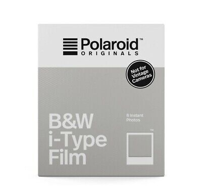 Polaroid Originals Standard B&W Film for i-Type Cameras