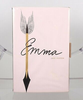 """NWT Kate Spade Book of the Month Clutch Purse EMMA by Jane Austin 9"""" x 6"""""""