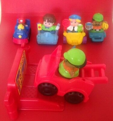 Genuine Fisher Price Little People Car Service