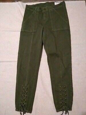 Womens Vince Camuto Army Green 28/6 Pants