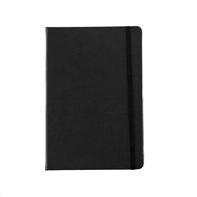 A5 Black Cover Address Book with Elastic A-Z Phone E-mail Office Telephone