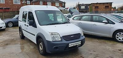 2012 12 Ford Transit Connect 1.8Tdci 90Ps High Roof Crew Van T230 Lwb Ex Police