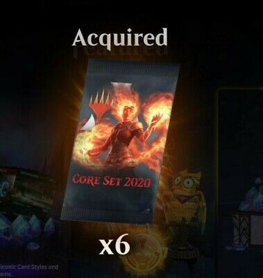 MTG Arena Core Set 2020Prerelease Arena Code for 6 Packs! One per account ONLY!