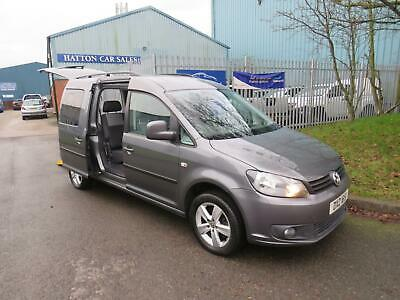 ***  1 Owner  2012  Volkswagen Caddy Maxi Life 1.6 Tdi Wheel Chair Adapted ***