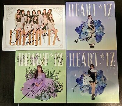 IZ*ONE/IZONE YENA/CHAEWON/YURI/YUJIN/NAKO/MINJU Signed Album COLOR US Seller
