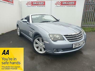 2004 04 Chrysler Crossfire 3.2 V6 Roadster Automatic.great Looking Car.full Mot.
