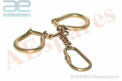 New Brass Made Key Ring Keychain Key Fob Keyring