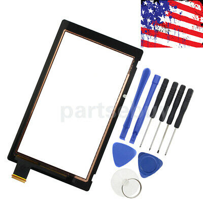 Touch Screen Digitizer Glass Replacement Part For Nintendo Switch Black New