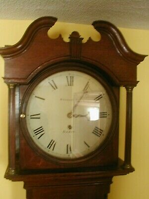 Absolute Bargain Whitehurst & Sons Tavern/Longcase Clock Signed Dial & Movement