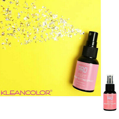 KLEANCOLOR MakeUp Setting Spray Pro Sealer DEWY Finish 30ml - Free Shipping
