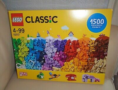 Lego Classic Bricks Bricks Bricks 10717 - Brand New & Sealed. 1500 Pieces. b