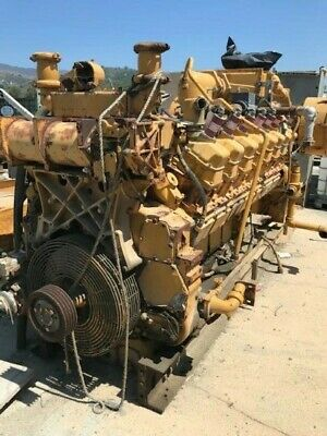 Cat Model G3516TA Natural Gas Engine