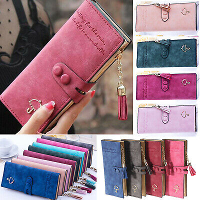Women's Umbrella Long Large Clutch Purse Wallet Phone Card Holder Bag Handbag