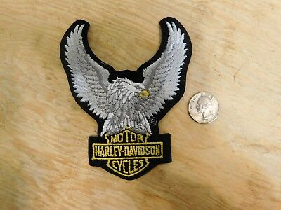 Harley Davidson Motorcycle Eagle Logo Patch