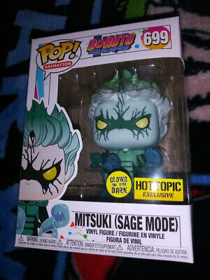 "Funko POP! ""Naruto"" Mitsuki Sage Mode GLOW IN THE DARK (Hot Topic exclusive)"