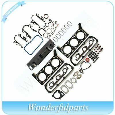 Fit 01-04 Chrysler Dodge 3.3L 201ci OHV V6 Cylinder Head Gasket Set kit engine