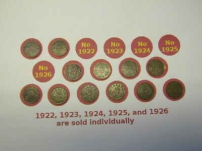 1920-1936 Canada 1 cent collection (incomplete)
