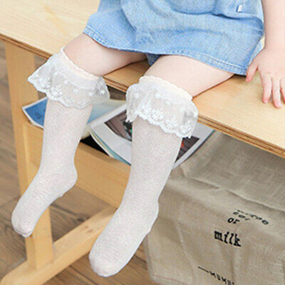 Baby Tights Hosiery Kids Stockings Lace-Bow Newborn Toddler Girl Infant Summer