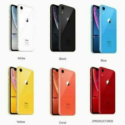 Apple iPhone XR - 64GB 256GB - Unlocked - Various Colours