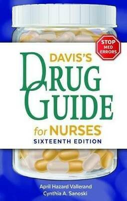 Davis's Drug Guide for Nurses - Paperback - VERY GOOD