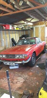 1973 Triumph Stag Coupe 2.5 - Comes With 2 Spare Engines