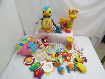 Lot Of Baby Infant Toys Story Book Crib Stroller Toys Taggies Great Names